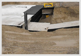Bomb Shelter Construction Zone