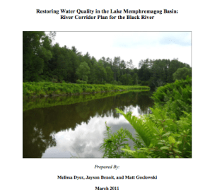 Title Page of Black River Watershed Report