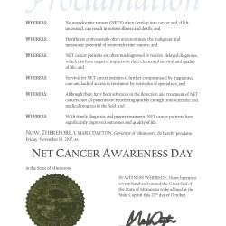 NET Cancer Awareness Day 2017