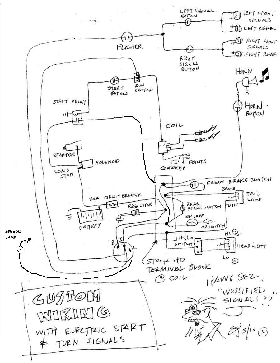 shovelhead chopper wiring diagram   33 wiring diagram