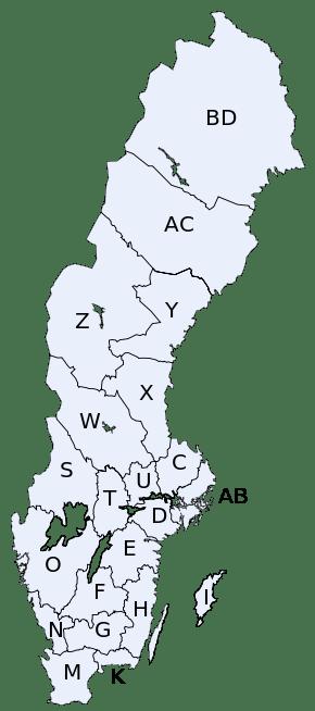 Sveriges lan