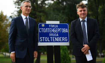 Skopje named a street to honor the Norwegian diplomat