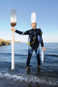 Geir Skeie, chef at a restaurant in Sandefjord, Norway, is competing in this year's Bocuse d'Or.