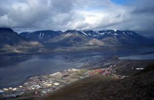 Longyearbyen, Svalbard. Photo Wikipedia