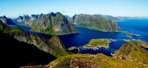 The Reine fjord in Lofoten.