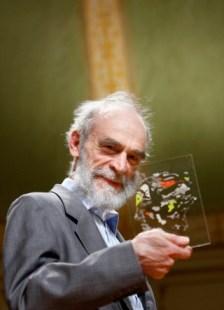 Mikhail Gromov has received the Abel Prize. Foto: Erlend Aas/Scanpix