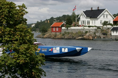 'Arendal Norway - Class 1 World Powerboat Championship Norwegian Grand Prix 2008. Photo © Simon Palfrader