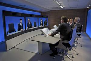 The award-winning TANDBERG Telepresence T3 provides an unmatched, immersive telepresence experience.
