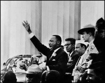 Martin Luther King Jr © Bob Adelman /Magnum Photos USA. Washington DC 1963 Bob Adelman