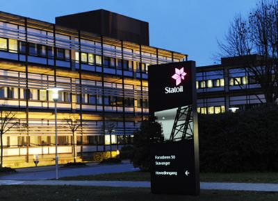 Statoil's new identity. Photo: Øyvind Hagen, Statoil