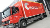 Norway Mail (Posten) truck