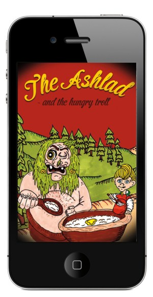 "Photo: Forlaget Propell ""The Ashlad and the Hungry Troll"" is available through Apple's iTunes."