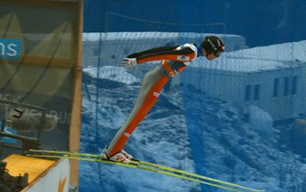 Bardal's best hop. Photo: NRK