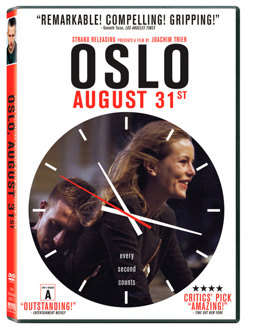 """Oslo, August 31st"" is coming to North America on DVD on Sept. 18. Enter our drawing to win your free copy!"