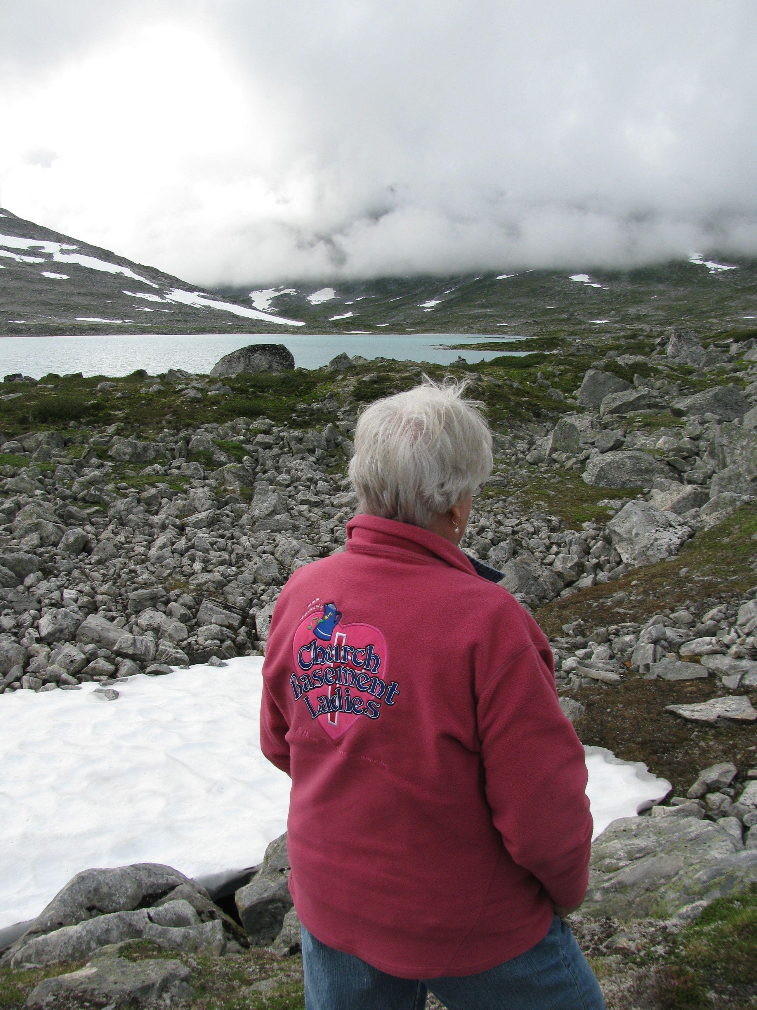 Photo: Heidi Grosch Rosalie Grosch hikes the Old Stryn Mountain