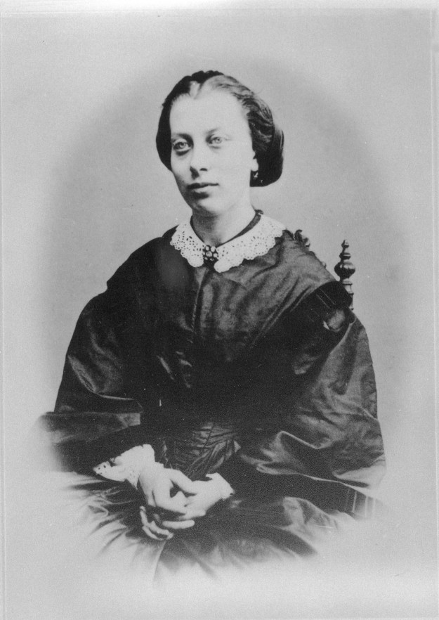 Photo: courtesy of Nancy Clasen, great-great-granddaughter of Theodora's younger sister, Marie Cormontan Lyders Theodora Cormontan, c. late 1850's-early 1860's Theodora Cormontan c. 1865