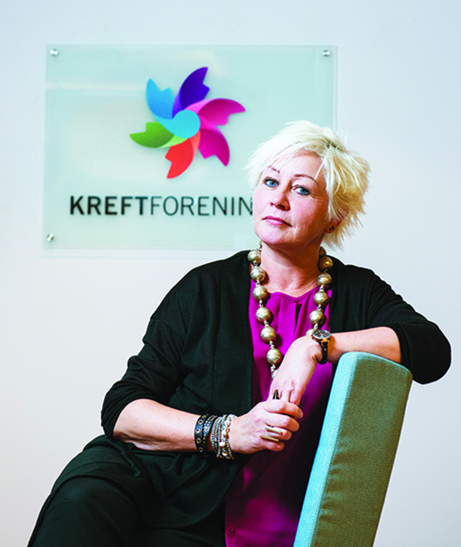 Anne Lise Ryel, Secretary General Anne Lise Ryel of the Norwegian Cancer Society.