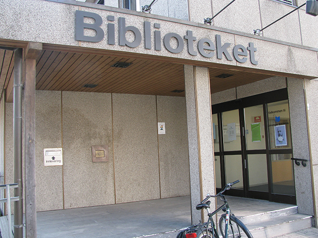 Photo: Heidi Håvan Grosch Some libraries in Scandinavia are staying open for business after the human staff have gone home.