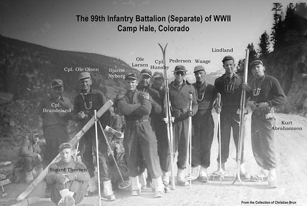 Photo courtesy of 99th Infantry Battalion (Separate) WWII Educational Foundation