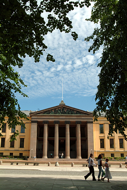 Photo: Nancy Bundt / Visitnorway.com Many fine schools, like the University of Oslo, wait for American students to take advantage of them.