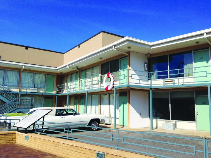 Photo: Mario G. Flores The Lorraine Motel where Martin Luthor King, Jr. was shot, currently part of the National Civil Rights Museum.