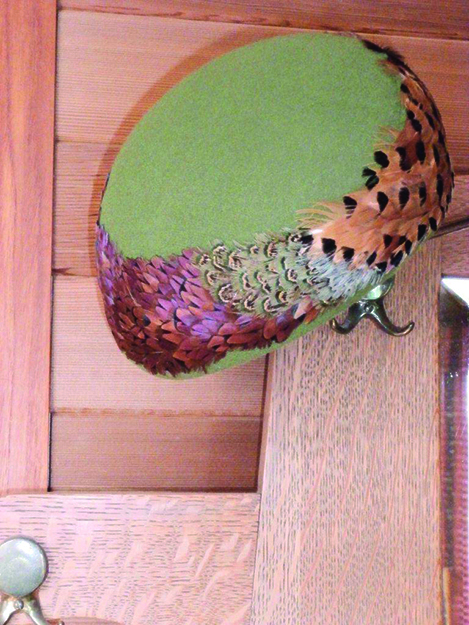 Photo: Shelby Gilje The pheasants' lives may have been cut short by a hunter, but the hat lives on some 51 years later.