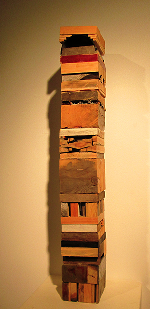 Photo: Christine Foster Meloni  Wood scuplture by an unnamed artist.