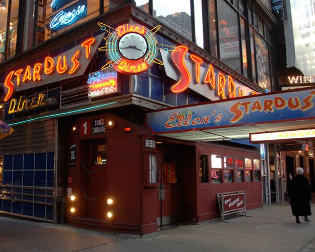 Photo: Ken Sturm Ellen's Stardust Diner is always a hit with the ladies from Vanse.