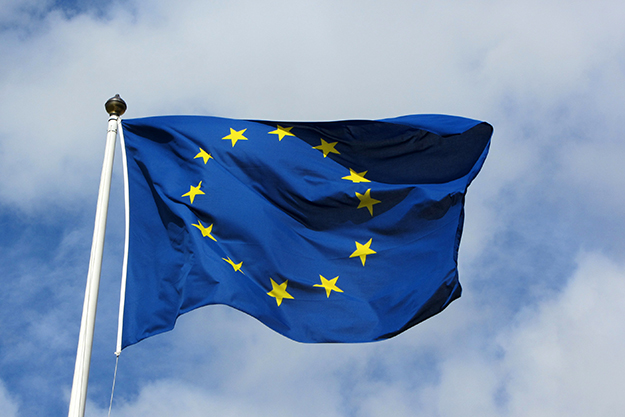 "Photo: MPD01605 / Wikimedia Commons The EU flag flying in Karlskrona, Sweden, in 2011. Sweden joining the European Union in 1994 was a blow to the ""no"" campaign in Norway at the time."