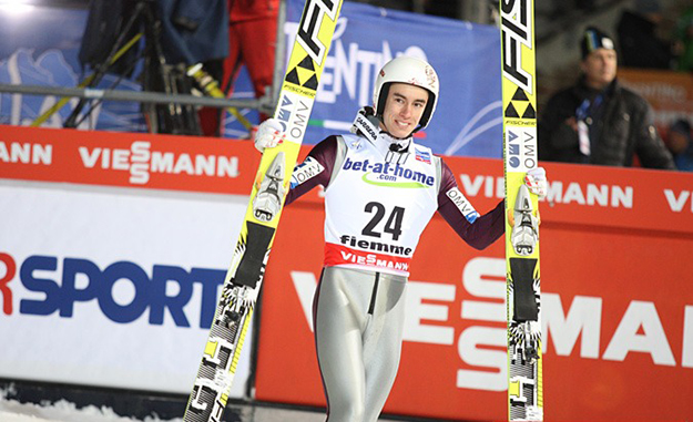 Photo: Tadeusz Mieczyński /  Wikimedia Commons Stefen Kraft, the ultimate winner of this year's Four Hills Tournament, in 2013.