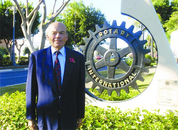 Photo courtesy of Rasmus Falck Rasmus Falck, new president of the Oslo Rotary Club.