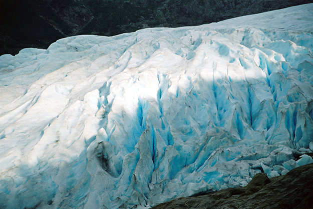 Photo: Avani / Visitnorway.com Part of the Svartisen Glacier, which could soon be available for use in high-end cocktails.