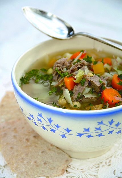 Photo: Tine Mediebank Sodd is a tasty soup with a funny name.