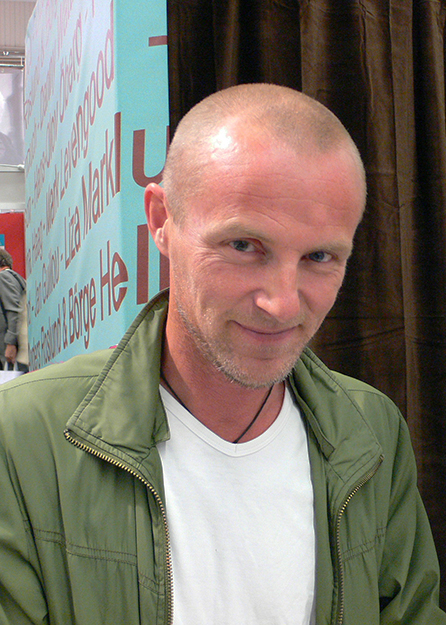 Photo: Wikimedia Commons Jo Nesbø at Gothenburg Book Fair, 2007.