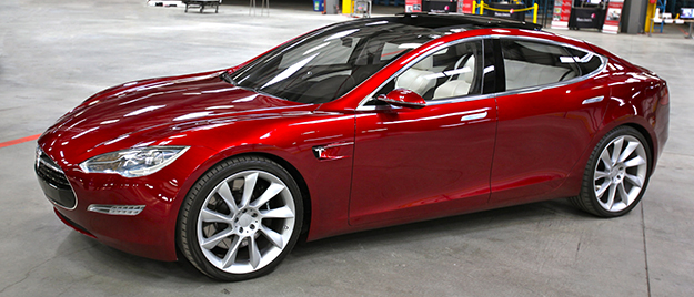 Photo: Steve Jurvetson / Wikimedia The Tesla Model S, one of Norway's top cars.