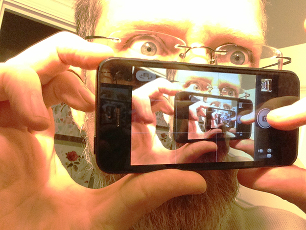 Photo: Bart Everson / Flickr Fun with camera phone and mirror. poLight's cameras may become the standard equipment used for these sorts of shenanigans.