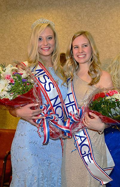 Photo: Edward T. Johannesen 2015's Miss Norway of Greater New York, Lauren Reese Benson, and Miss Heritage, Britt Henricksen.