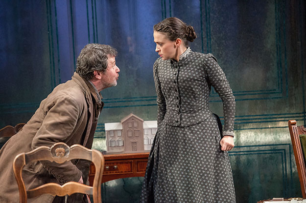 Photo: Stephanie Berger  Brian McCardie and Charlene McKenna onstage in Ibsen's Ghosts.