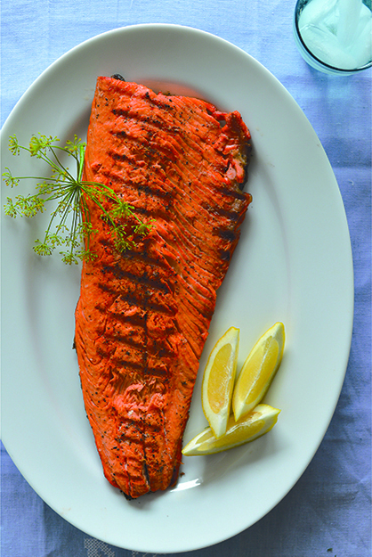Photo: Daytona Strong Why mess with quality? When the salmon is this good, cook it simply and serve a complementary sauce on the side.