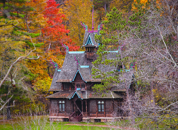Photo: Micha L. Rieser / Wikimedia Commons This stave church, currently in Wisconsin, was built in Norway for the Chicago World's Fair in 1893, and now may return to Norway.