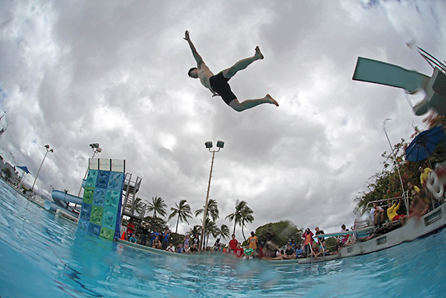 Photo: Pixabay  Dødsing—essentially a game of chicken against the dreaded belly flop—is increasing in popularity as a sport, with World Championships each summer.
