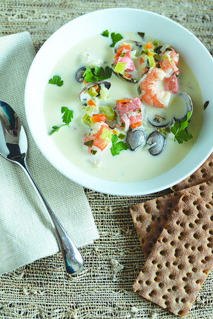Photo: Daytona Strong This fish soup conjures up a sense of place, one bite at a time.