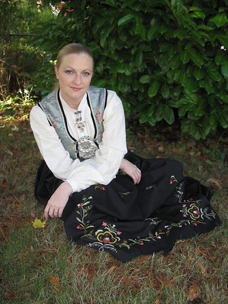 Photo: Nels Peterson Laura Loge, soprano, Grieg Gala
