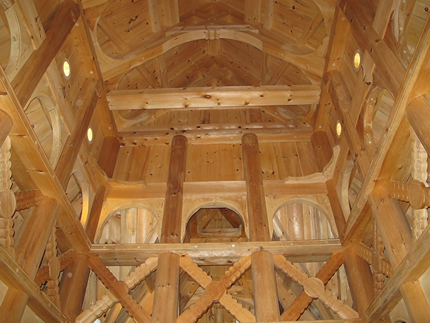 Photo: Thor A. Larsen  The stave church in Connecticut is every bit as impressive as the Borgund church that inspired it.