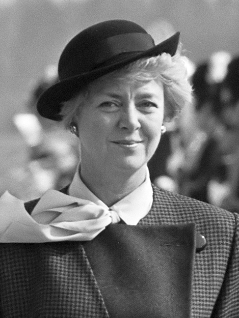 Photo: Rob C. Croes / Anefo photo /  Wikimedia Commons Vigdís Finnbogadóttir in 1985.