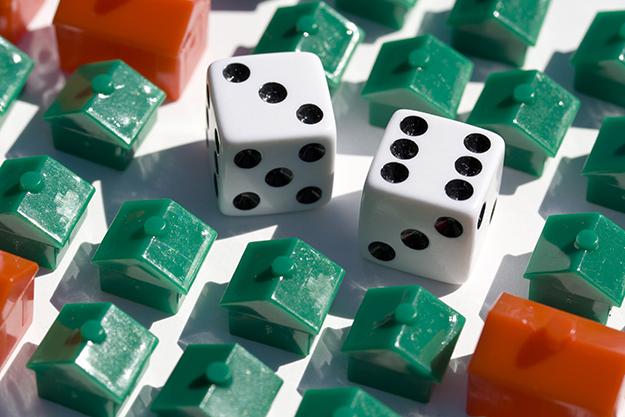 Photo: woodleywonderworks / Flickr Like in Monopoly, the landlords get richer while their tenants get poorer.