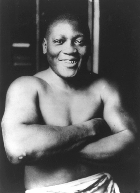 Photo: Wikimedia Commons Jack Johnson in 1915.