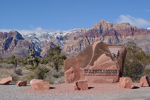 Denise Westerfield / Wikimedia The majestic Red Rock National Conservation Area is a must-see for visitors to Summerlin.