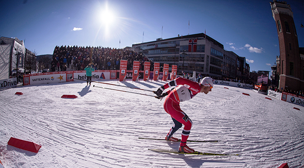 Photo: frederikringnes  / Wikimedia Commons Petter Northug at the 2012 Ski Sprint World Cup in Drammen, Norway.