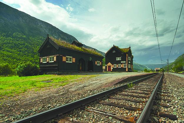 Photo: Shutterstock Quaint Drivstua Stasjon is no longer in use, but is preserved as a Heritage Site.